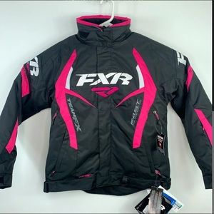 FXR FAST TEAM FX SNOWMOBILE JACKET